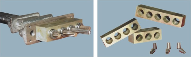供应LVM扁形锚具BM15、BM13系列