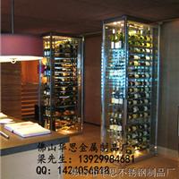 供应厂家直供成都不锈钢酒架子不锈钢红酒架