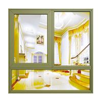 兴发铝材55系列隔热节能外平开窗