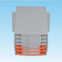 供应无跳接熔储单元,六层储纤盒,熔纤盘