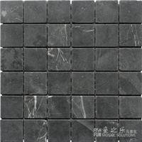 石材马赛克-黑白根-49哑面-鱼之乐