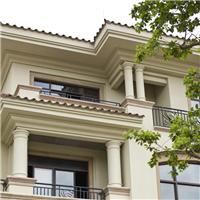 双瑜定制别墅外墙GRC、人造文化石产品