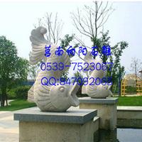 喷水鱼石雕价格、厂家、批发定制