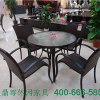 供应户外铝合金桌椅1002