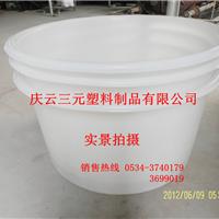 供应500L敞口塑料桶500L圆桶500L腌制桶