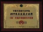 中国天花板行业评选2009最具发展力品偶