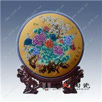 供应景德镇纪念瓷盘厂家 定做陶瓷摆盘
