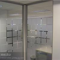 北京办公室玻璃磨砂纸批发施工