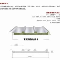 42-333-1000型120mm厚聚氨酯封边岩棉屋面板