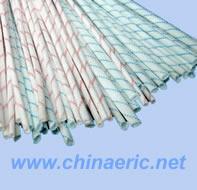 供应2753硅树脂玻璃纤维绝缘漆管 自熄管