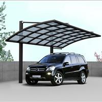 武汉PC耐力板停车场顶棚 车棚 雨棚