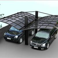 长沙PC耐力板停车场顶棚 车棚 雨棚