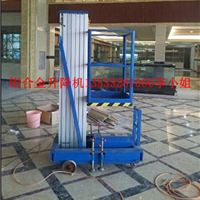 酒店维修专用升降机,珠海铝合金升降机价格