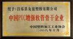 中国PVC增强软管骨干企业