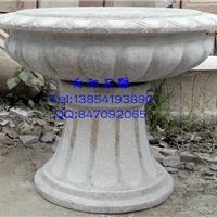 石雕花盆价格|低价石材花钵|黄锈石景观花盆