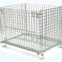 供应仓库笼 钢丝笼 金属笼 折叠式仓储笼