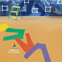 巨龙280同质透心PVC卷材塑胶地板上海