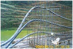 供应桥梁制孔胶管、橡胶抽拔管