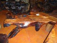 根雕茶桌-哪里根雕茶桌便宜俊杰根艺馆-花梨木茶桌