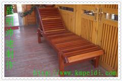 供应户外休闲实木沙滩椅/户外家具/沙滩椅