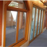木包铝门,美式铝包木门窗高端铝合金门窗