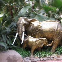 供应石雕大象厂家,石雕牛,石雕12生肖供应