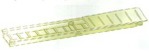 供应镇江梯式钢制电缆桥架