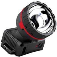 供应LED头灯垂钓露营充电式便携手电筒