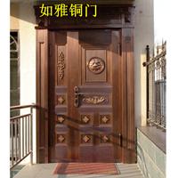 山东铜门厂|济南铜门|菏泽别墅铜门加工厂