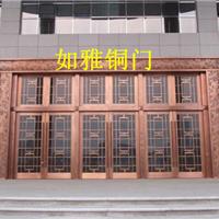 湖南铜门厂|长沙会所铜门加工|常德别墅铜门