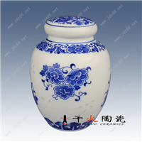 供应陶瓷茶叶罐 景德镇茶叶罐厂家