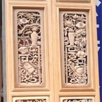实木雕花门窗厂