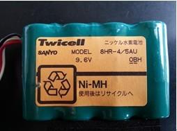 Twicell SANYO 8HR-4/5AU 9.6V
