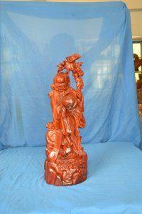 根雕茶桌 山东根雕摆件 根雕工艺品 花梨木寿星