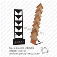 供应简易式石材展示架。精品瓷砖展示架E003