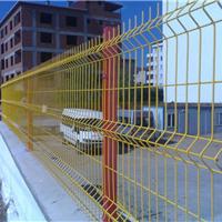 供应4S店护栏网 厂区外围 三角折弯隔离网
