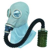 供应头套式防毒面具