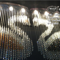 天鹅现代水晶灯,吊线现代水晶灯