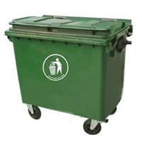 广西厂家直销生活移动垃圾桶 660L大容量