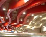 优质异形造型铝方通天花吊顶厂家