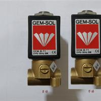 供应GEM-SOL GEM-B-71 以色列GEM-SOL电磁阀