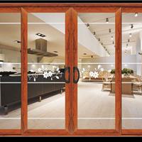 供应铝木复合门窗/断桥铝合金窗订做厂家