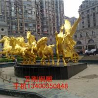 供应铸铜雕塑阿波罗战车,太阳神铜雕塑