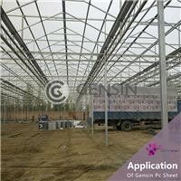 阳光板 温室阳光板 温室中空板 聚碳酸酯中空板