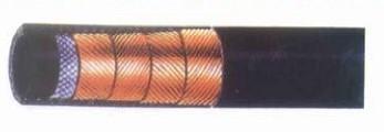 供应四层钢丝缠绕高压液压胶管