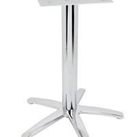 联合之星|供应电镀餐台脚|餐厅桌脚A580L