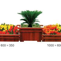 唐山木质花盆花箱样式精美外形美观价格低廉