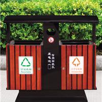 供应长沙钢木垃圾桶首选美天环保