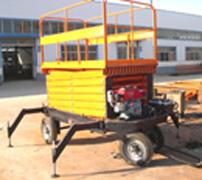 供应 柴油机动力液压升降机