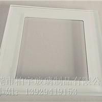 供应各种规格开孔钢化玻璃面板
